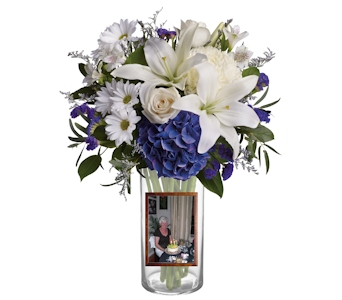 Beautiful In Blue in Pinellas Park FL, Hayes Florist