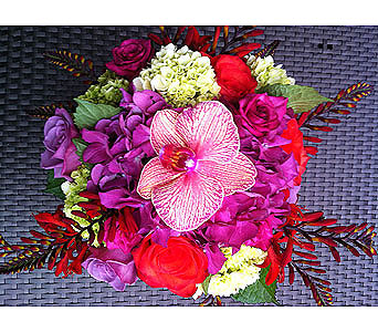 HOT TIN ROOF BOUQUET in Bellevue WA, CITY FLOWERS, INC.
