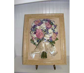 12x16 Natural Domed Frame in Middletown DE, Forget Me Not Florist & Flower Preservation