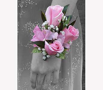 Prom Wrist Corsage in San Antonio TX, The Tuscan Rose