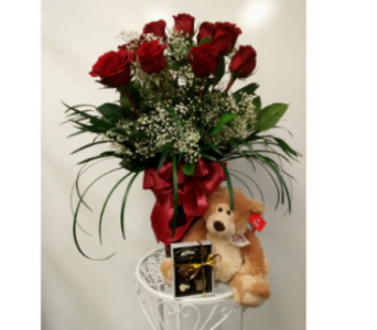 True Love Gift Set in Alliston, New Tecumseth ON, Bern's Flowers & Gifts