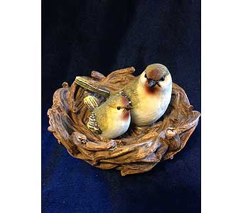 Resign Nest with Mother & Baby Bird in Fayetteville GA, Our Father's House Florist & Gifts