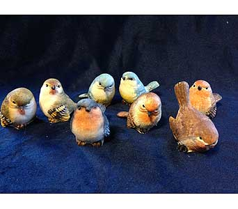 Assorted resin birds in Fayetteville GA, Our Father's House Florist & Gifts