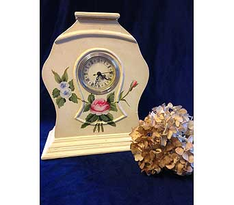 Victorian Mantel Clock in Fayetteville GA, Our Father's House Florist & Gifts
