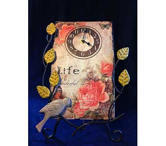 Life Is Wonderful Clock in Fayetteville GA, Our Father's House Florist & Gifts