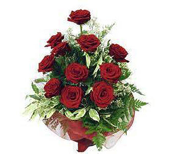 12 Red Roses in Madison ME, Country Greenery Florist & Formal Wear