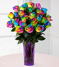 Rainbow Roses in Senatobia MS, Franklin's Florist