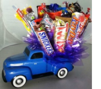 Truck load of candy bouquet in Crown Point IN, Debbie's Designs
