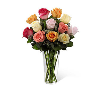 Mixed Roses in Palm Springs CA, Palm Springs Florist, Inc.