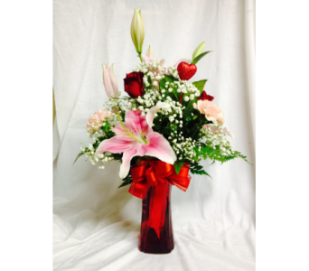 Kisses for You in Escanaba MI, Wickert Floral