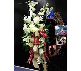 Grandpa wreath in Statesville NC, Brookdale Florist, LLC