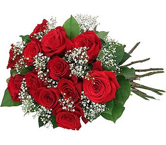 12 beautiful red roses boxed in Ajax ON, Adrienne's Flowers And Gifts