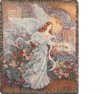 Angel of Love Tapestry Throw in Hollidaysburg PA, Warner's Florist Gifts & Greenhouse