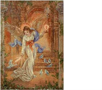 Angel of Light Tapestry Throw in Hollidaysburg PA, Warner's Florist Gifts & Greenhouse