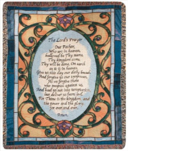 The Lord''s Prayer Tapestry Throw in Hollidaysburg PA, Warner's Florist Gifts & Greenhouse