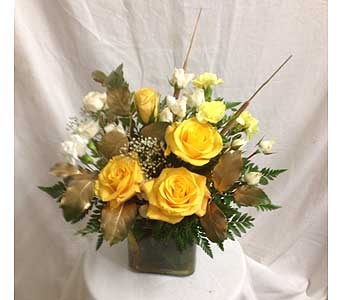 Sunny Yellow's in Rancho Cordova CA, Roses & Bows Florist Shop