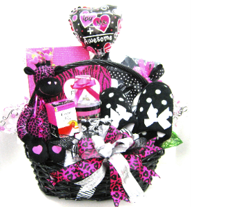 Cosmo Comfort Gift Basket in Oklahoma City OK, Array of Flowers & Gifts