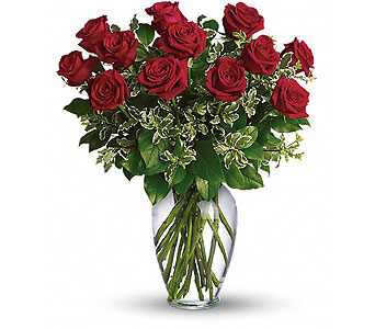 Always on My Mind - Long Stemmed Red Roses in Alliston, New Tecumseth ON, Bern's Flowers & Gifts