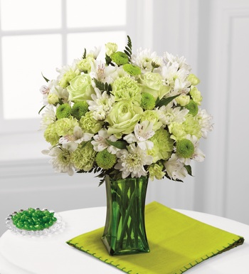 The Lime-Licious Bouquet in Chicago IL, Yera's Lake View Florist