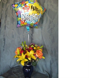 Birthday Liftoff in Evanston IL, West End Florist & Garden Center Inc.
