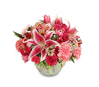 50 Shades of Pink in Mooresville NC, All Occasions Florist & Boutique<br>704.799.0474