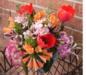 Bright Celebration in Evanston IL, West End Florist & Garden Center Inc.