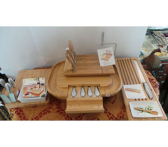 Wooden Cheese, Cheeseball and Dip Servers in Gautier MS, Flower Patch Florist & Gifts
