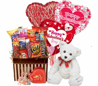 Romantic Snack Box Bundle in Birmingham AL, Norton's Florist