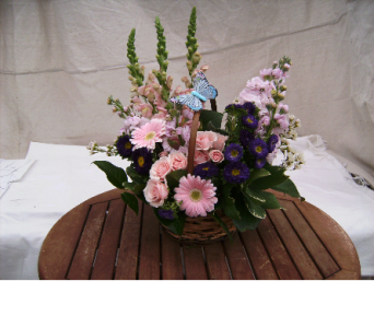 Basket of Blooms in Evanston IL, West End Florist & Garden Center Inc.