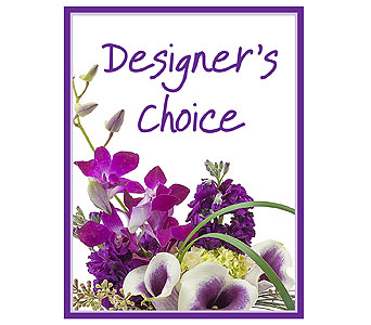 Designer's Choice in Bloomington IL, Forget Me Not Flowers