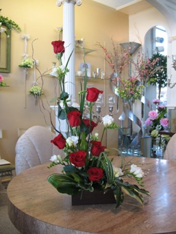 Roses and Freesia in Wichita KS, Dean's Designs