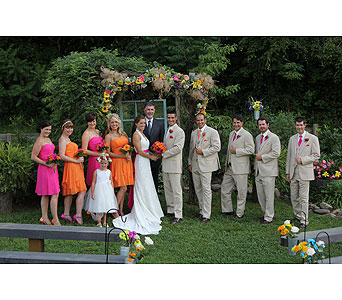 Wedding in Sevierville TN, From The Heart Flowers & Gifts