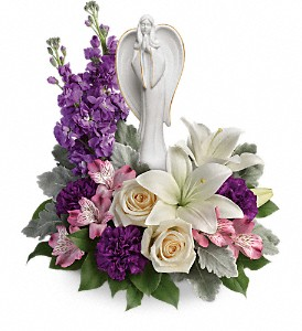 Teleflora's Beautiful Heart Bouquet in Naperville IL, Wildflower Florist