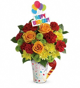 Teleflora's Fun 'n Festive Bouquet in Hampstead MD, Petals Flowers & Gifts, LLC