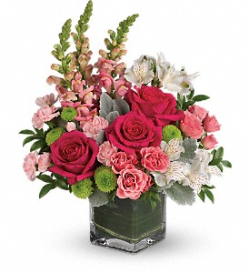 Teleflora's Garden Girl Bouquet in Brownsburg IN, Queen Anne's Lace Flowers & Gifts