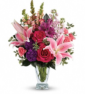 Teleflora's Morning Meadow Bouquet in Boerne TX, An Empty Vase