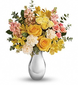 Teleflora's Soft Reflections Bouquet in Hendersonville NC, Forget-Me-Not Florist