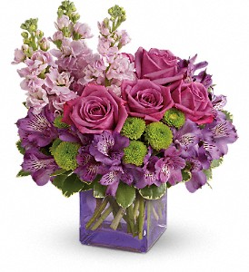 Teleflora's Sweet Sachet Bouquet in Miami OK, SunKissed Floral