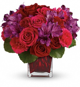 Teleflora's Take My Hand Bouquet in Shelton CT, Langanke's Florist, Inc.