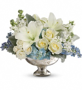 Telflora's Elegant Affair Centerpiece in Burr Ridge IL, Vince's Flower Shop