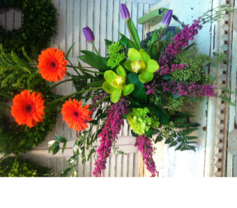 Fresh Arrangement in Quitman TX, Quitman Flower Shop