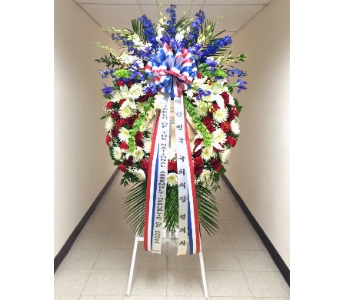 GRAND PATRIOTIC WREATH - PREMIUM in Arlington VA, Twin Towers Florist