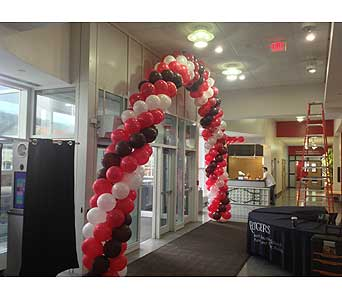 Balloon Arch in Somerset NJ, Flower Station