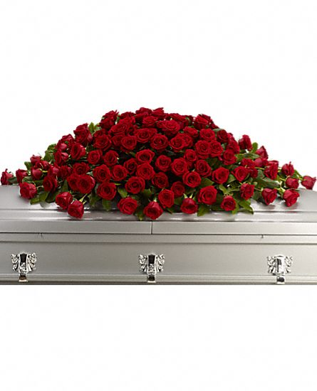 Greatest Love Casket Spray in Clearwater FL, Hassell Florist