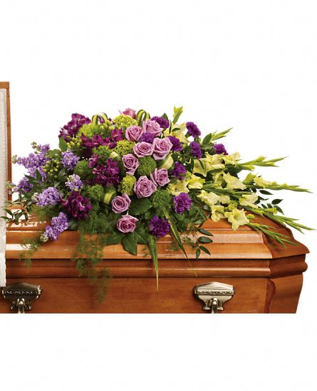 Reflections of Gratitude Casket Spray in Clearwater FL, Hassell Florist