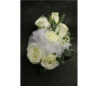 Spray Rose Corsage in Bensalem PA, Just Because...Flowers