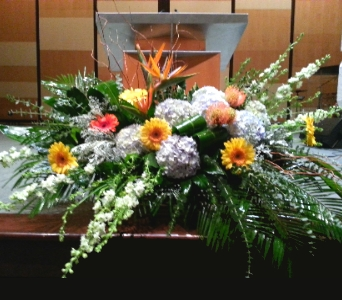 PODIUM ARRANGEMENT 80 in Arlington VA, Twin Towers Florist