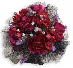 Red Carpet Romance Corsage in Perrysburg & Toledo OH  OH, Ken's Flower Shops