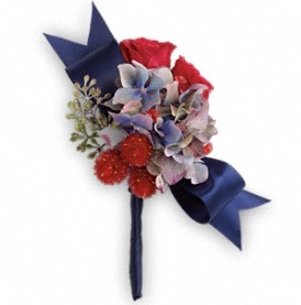 Camera Ready Boutonniere in Perrysburg & Toledo OH - Ann Arbor MI OH, Ken's Flower Shops
