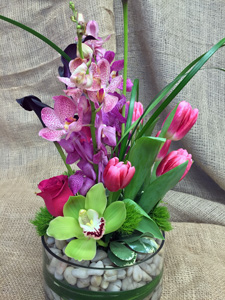 Spring River Dance in New York NY, Starbright Floral Design